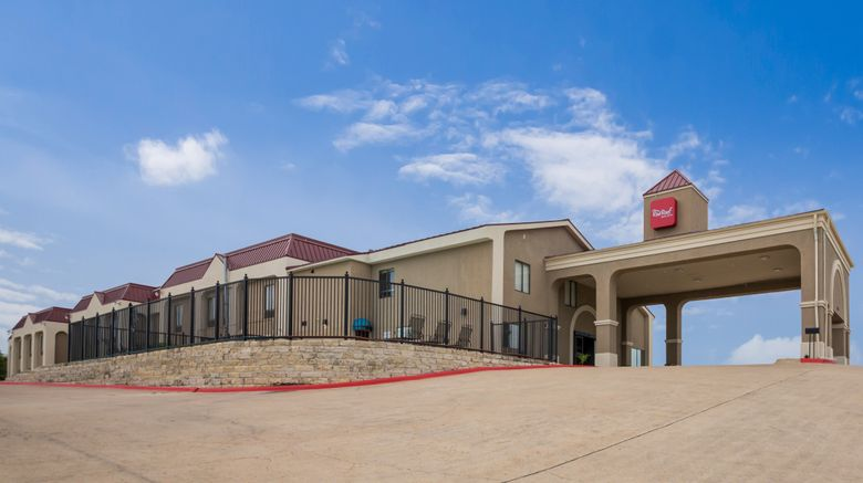 """Red Roof Inn  and  Suites Austin East-Manor Exterior. Images powered by <a href=""""http://www.leonardo.com"""" target=""""_blank"""" rel=""""noopener"""">Leonardo</a>."""