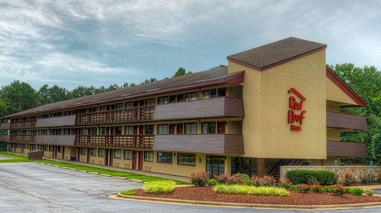 "Red Roof Inn Chapel Hill - UNC Exterior. Images powered by <a href=""http://www.leonardo.com"" target=""_blank"" rel=""noopener"">Leonardo</a>."