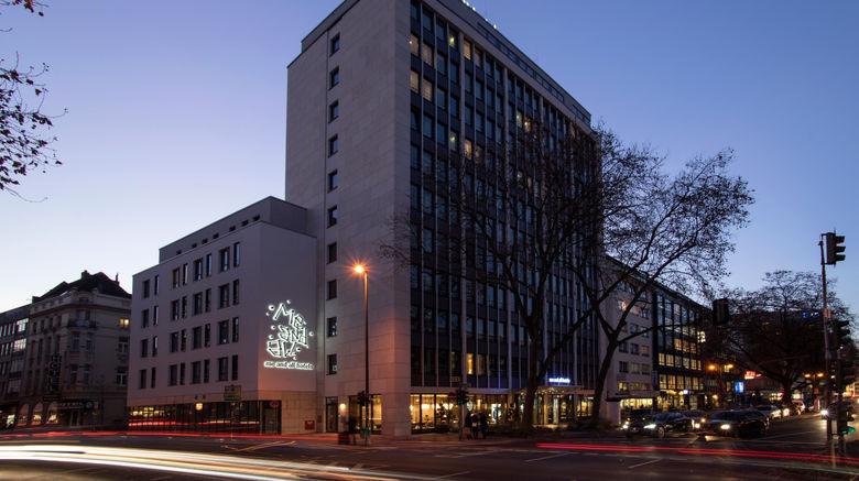 "me and all hotel dusseldorf Exterior. Images powered by <a href=""http://www.leonardo.com"" target=""_blank"" rel=""noopener"">Leonardo</a>."
