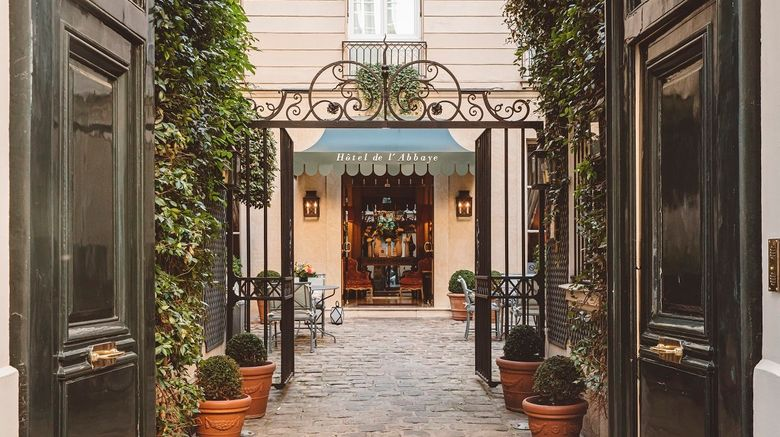 "Hotel de lAbbaye Saint-Germain Exterior. Images powered by <a href=""http://www.leonardo.com"" target=""_blank"" rel=""noopener"">Leonardo</a>."