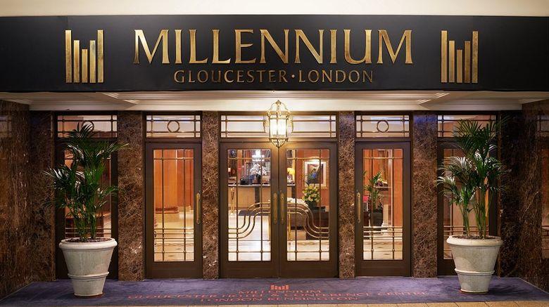 "Millennium Gloucester Hotel Kensington Exterior. Images powered by <a href=""http://www.leonardo.com"" target=""_blank"" rel=""noopener"">Leonardo</a>."