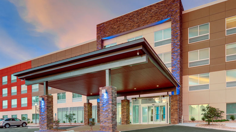 """Holiday Inn Express  and  Suites Civic Ctr Exterior. Images powered by <a href=""""http://www.leonardo.com"""" target=""""_blank"""" rel=""""noopener"""">Leonardo</a>."""