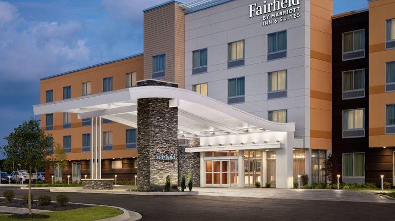 "Fairfield Inn/Suites Columbus Marysville Exterior. Images powered by <a href=""http://www.leonardo.com"" target=""_blank"" rel=""noopener"">Leonardo</a>."