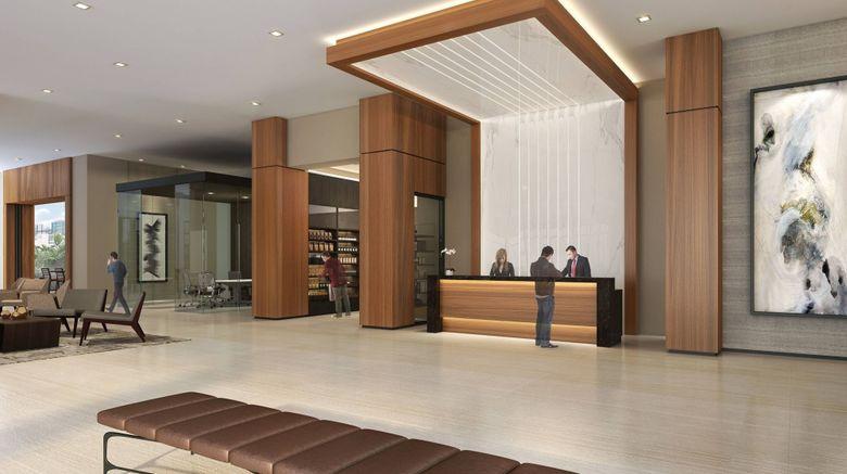 "AC Hotel Fort Lauderdale Airport Lobby. Images powered by <a href=""http://www.leonardo.com"" target=""_blank"" rel=""noopener"">Leonardo</a>."