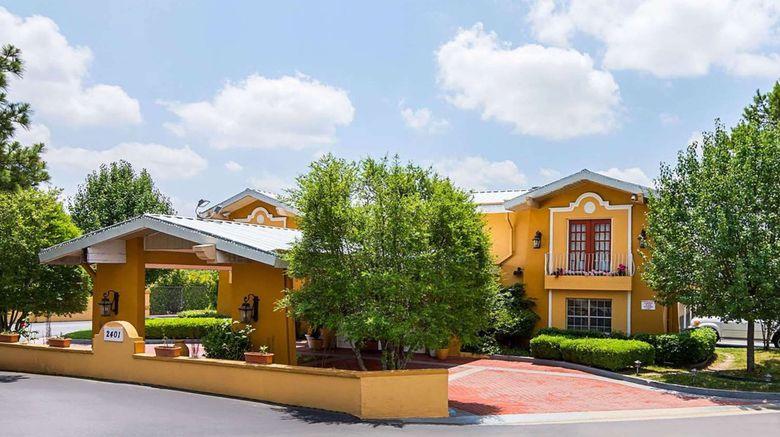 "Magnuson Hotel Little Rock South Exterior. Images powered by <a href=""http://www.leonardo.com"" target=""_blank"" rel=""noopener"">Leonardo</a>."