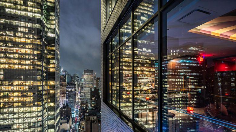 "Aliz Hotel Times Square Exterior. Images powered by <a href=""http://www.leonardo.com"" target=""_blank"" rel=""noopener"">Leonardo</a>."