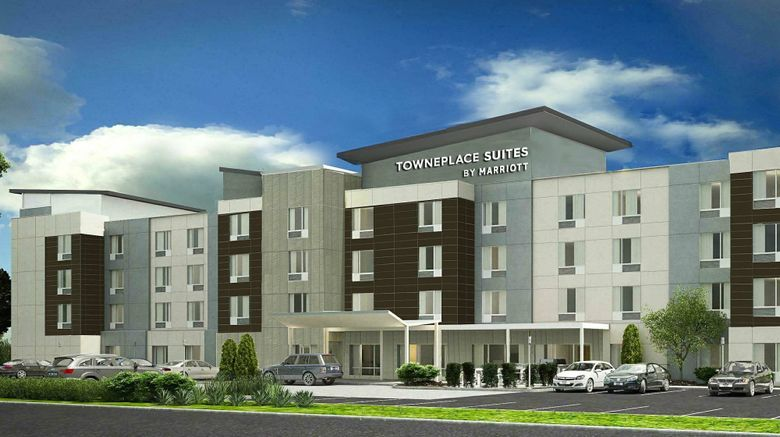 """TownePlace Suites Louisville Downtown Exterior. Images powered by <a href=""""http://www.leonardo.com"""" target=""""_blank"""" rel=""""noopener"""">Leonardo</a>."""