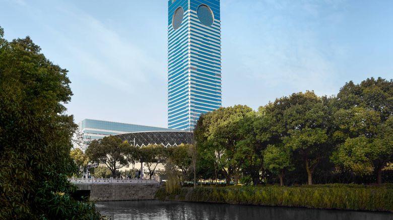 "Suzhou Marriott Hotel Exterior. Images powered by <a href=""http://www.leonardo.com"" target=""_blank"" rel=""noopener"">Leonardo</a>."