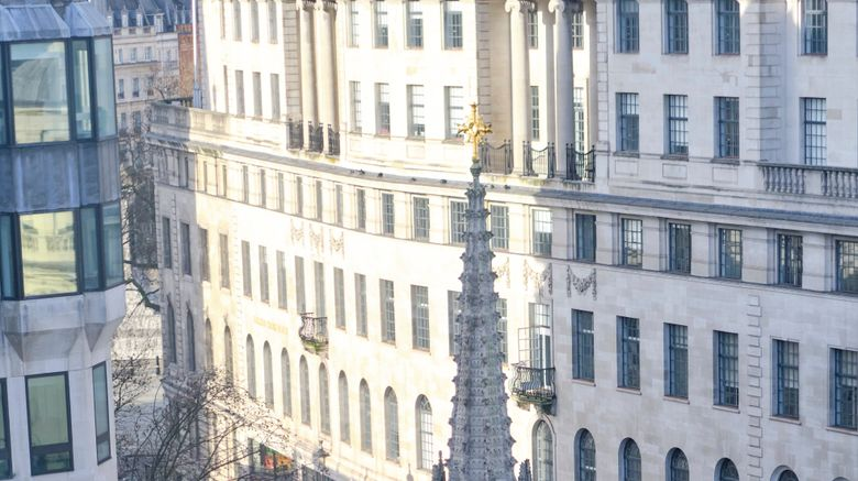 """The Clermont London, Charing Cross Exterior. Images powered by <a href=""""http://www.leonardo.com"""" target=""""_blank"""" rel=""""noopener"""">Leonardo</a>."""