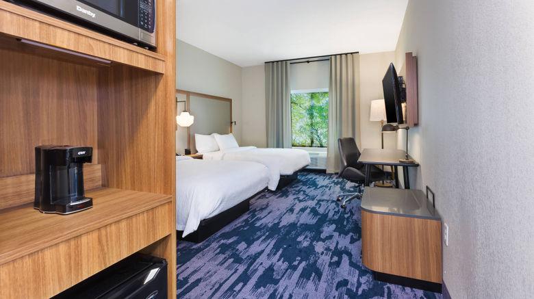 "Fairfield Inn  and  Suites Knoxville Alcoa Room. Images powered by <a href=""http://www.leonardo.com"" target=""_blank"" rel=""noopener"">Leonardo</a>."
