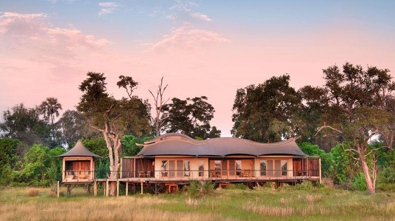 "Xigera Safari Lodge Exterior. Images powered by <a href=""http://www.leonardo.com"" target=""_blank"" rel=""noopener"">Leonardo</a>."