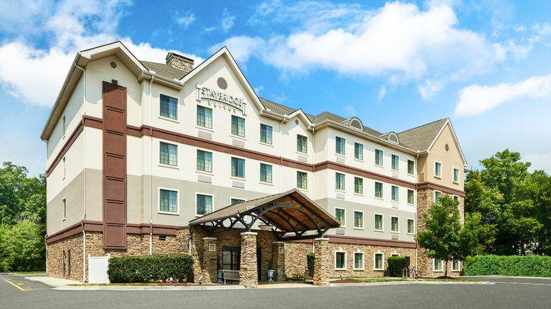"Staybridge Suites Durham-Chapel Hill RTP Exterior. Images powered by <a href=""http://www.leonardo.com"" target=""_blank"" rel=""noopener"">Leonardo</a>."