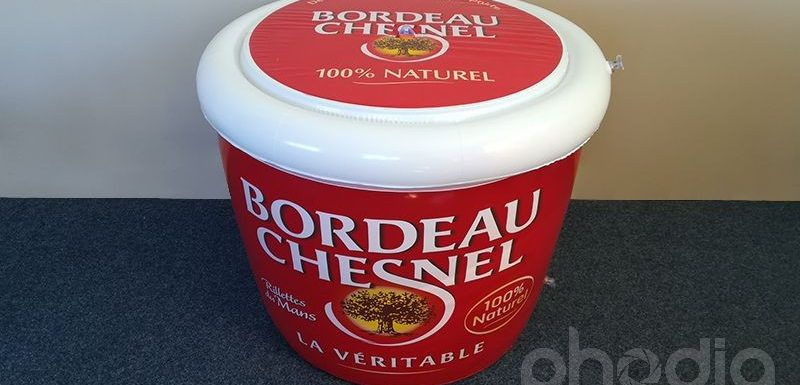pot de rillette gonflable géant Bordeau Chesnel