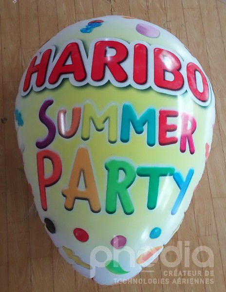 ballon oeuf haribo summer party