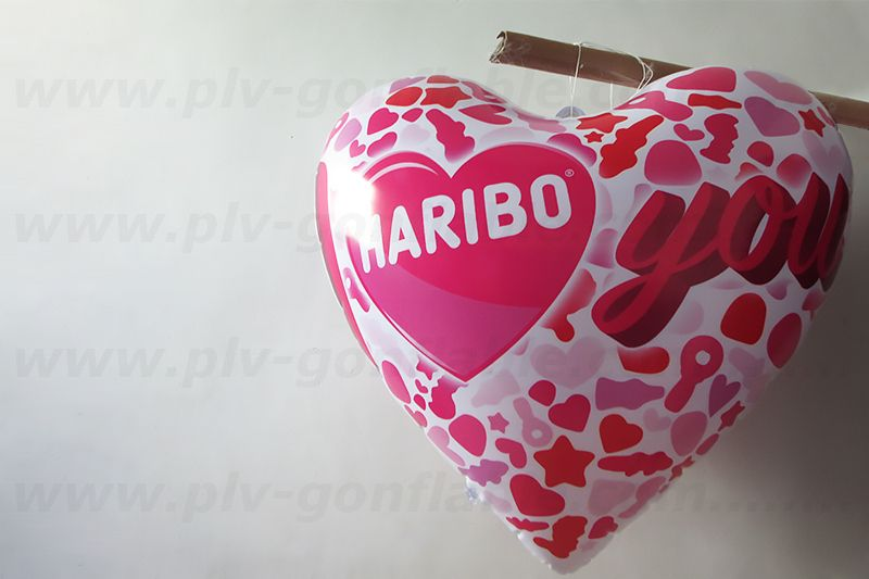 coeur haribo you gonflé à l'air