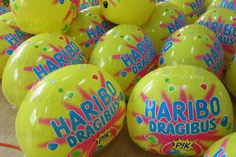 haribo dragibus p!p gonflé à l'air