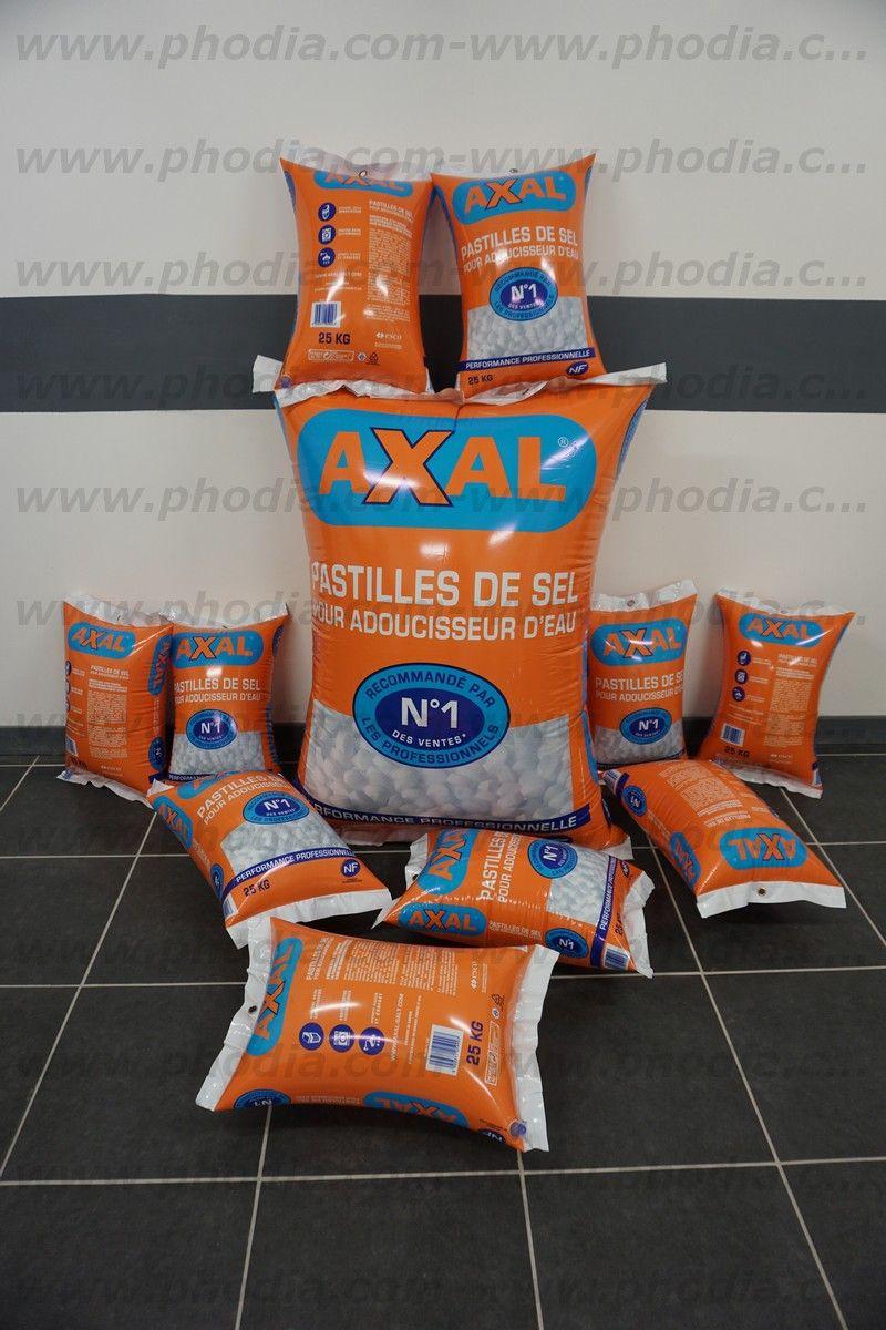 sac de patilles de sel axal adoucisseur d'eau pour piscine pour castorama