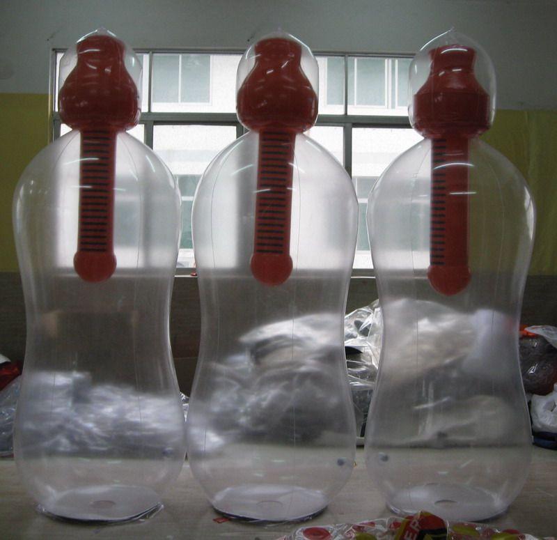 bouteilles bobbles avec filtre intégré géante pour publicité