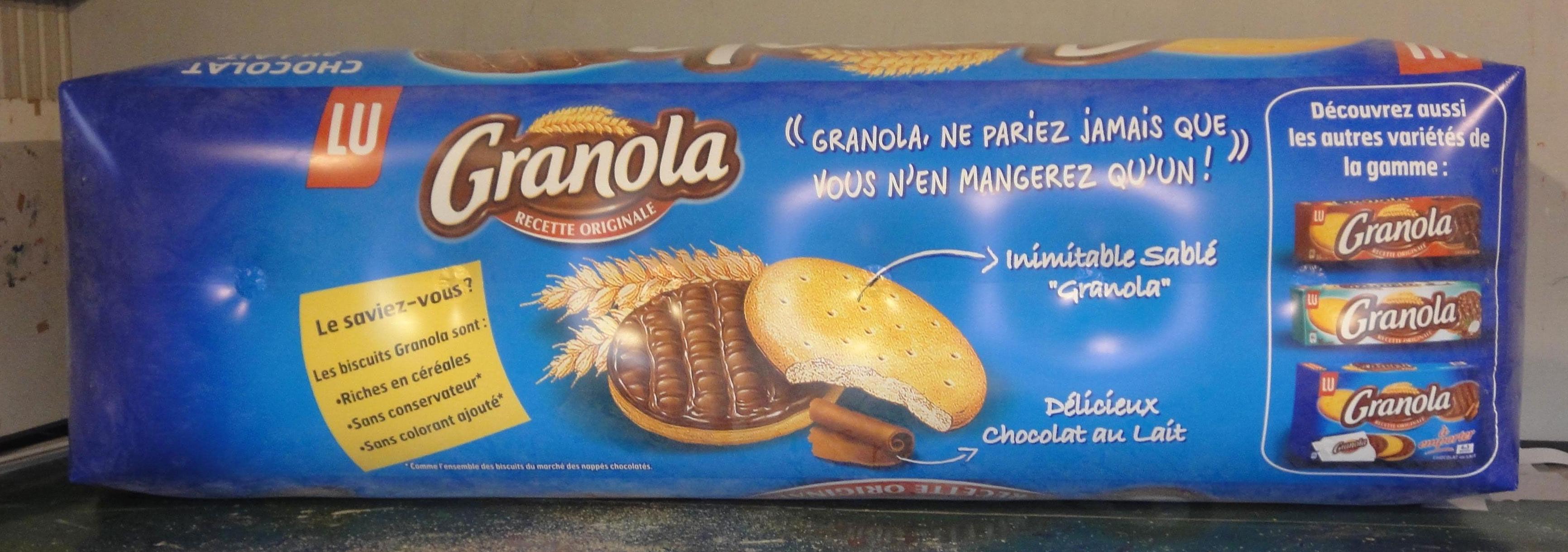 paquet de granola géant plv gonflable