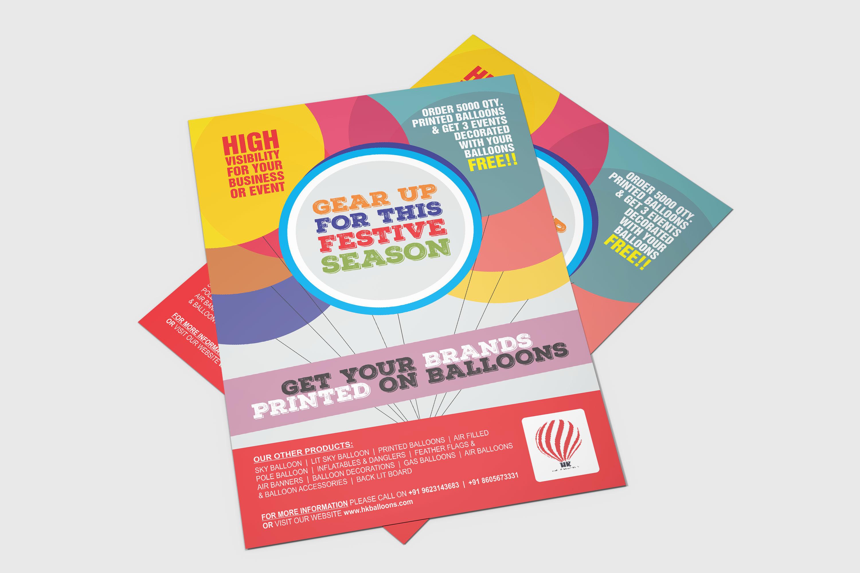 Brand marketing on Balloon by ArtOwls