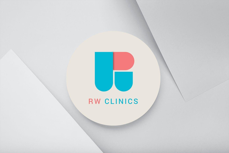 RW CLINIC Logo Design by ArtOwls