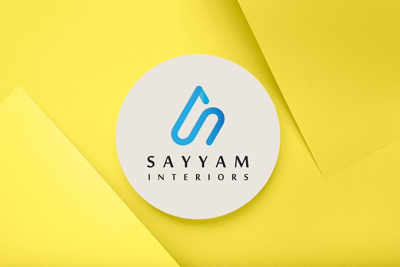 Sayyam Interiors Logo Design by ArtOwls