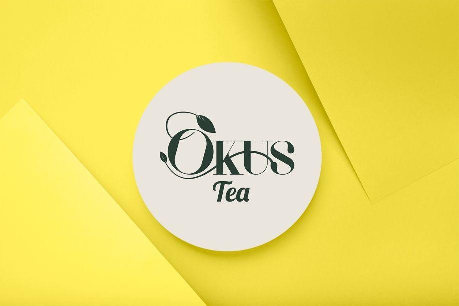 OKUS tea Logo Design by ArtOwls