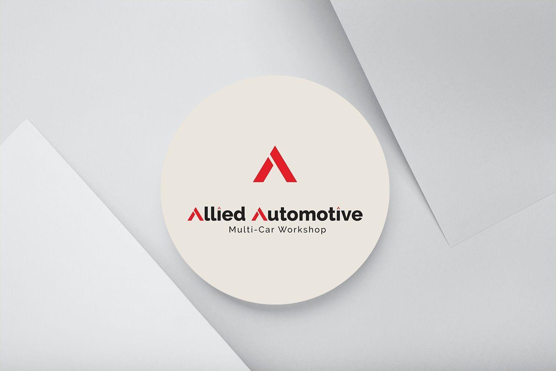 Allied Auto Logo Design by ArtOwls