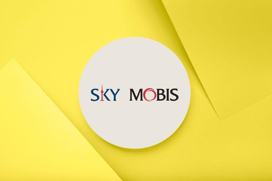 Sky Mobis Logo Design by ArtOwls