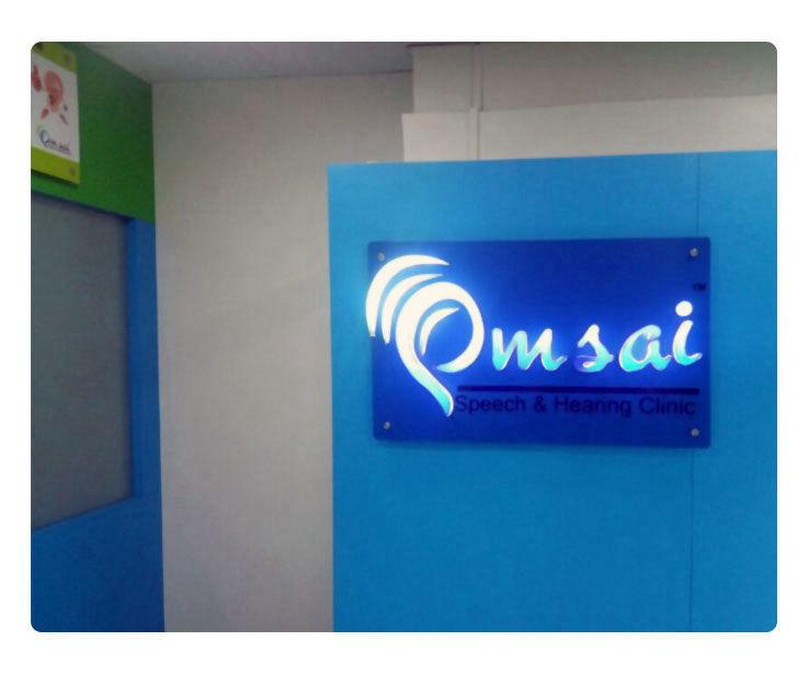 Om Sai Signage Design