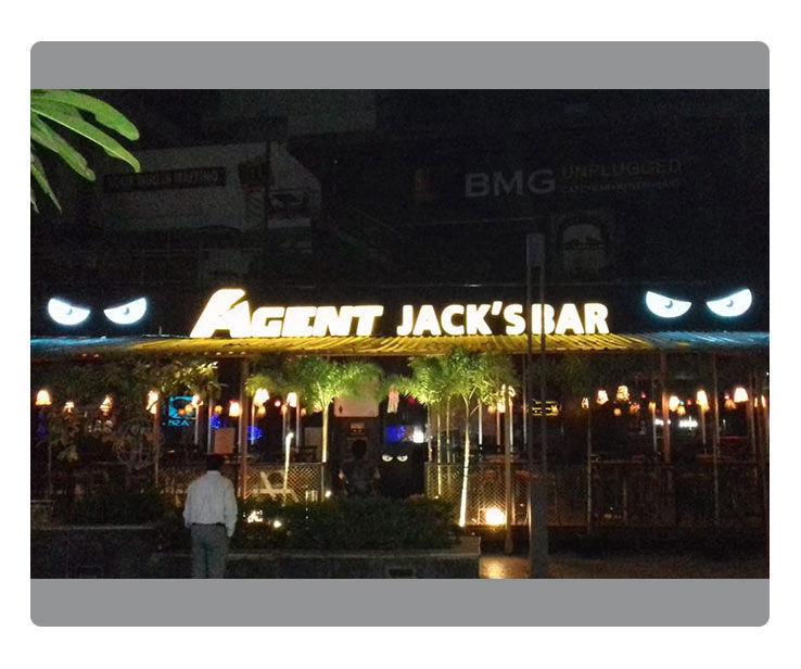 Agent Jack Signage Design
