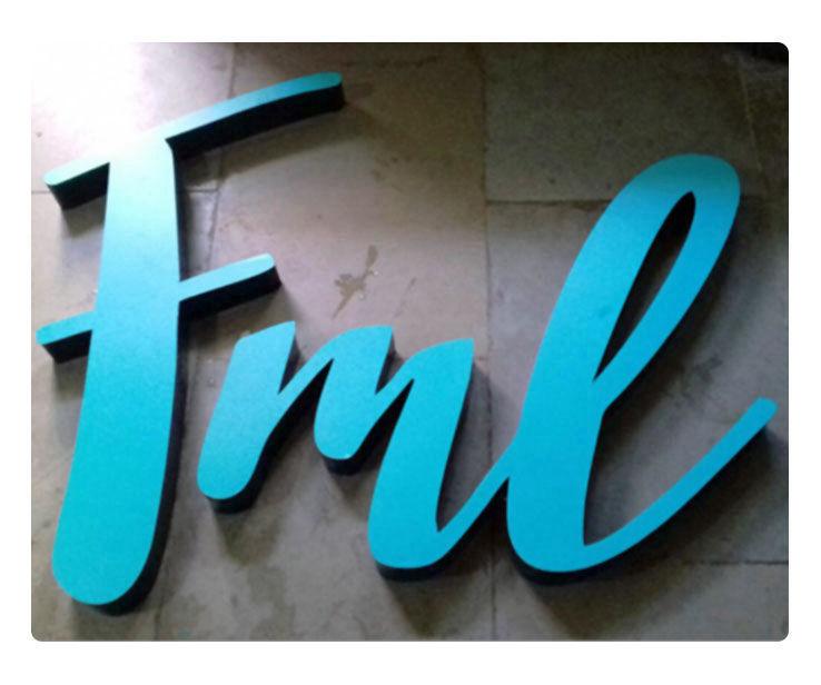 FML Signage Design