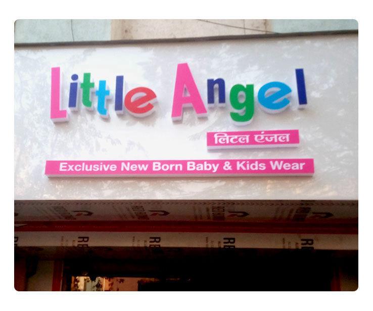 Little Angel Signage Design