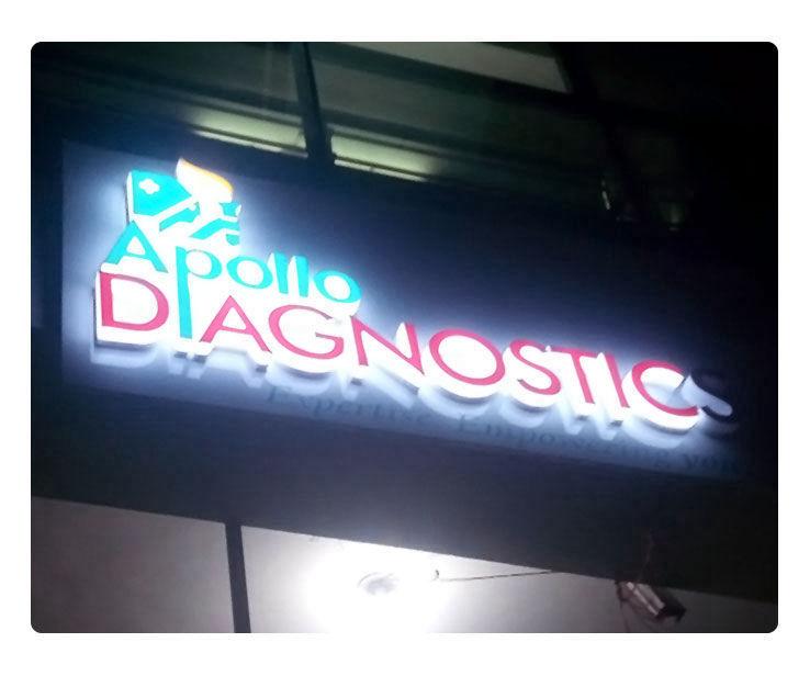 Apollo Diagnostic Signage Design