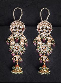 Laal Mehal Earrings