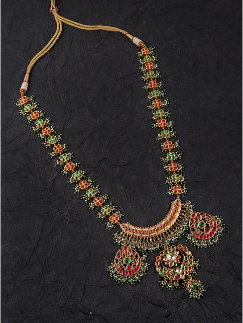 Bandhej Long Necklace
