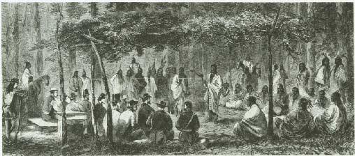 Medicine Lodge Treaty Picture