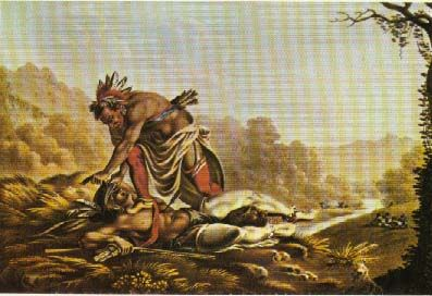 Picture of Comanche Scalping