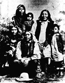 Picture of Ish-Ta-Ma and Family