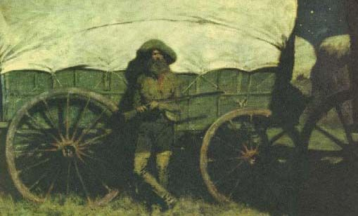 Picture of The Sentinel by Frederic Remington