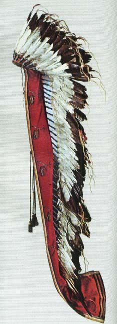 Picture of Quanah Parker's Headdress