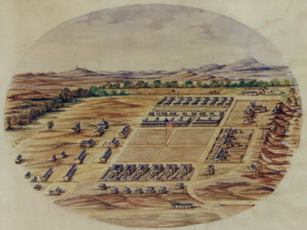 Sketch of Fort Sill