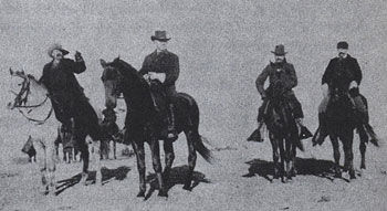 Picture of General Miles and Buffalo Bill Cody