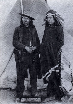Picture of Red Cloud and American Horse