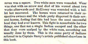 Battle of Lookout Point story from the book Indian Depredations in Texas by J. W. Wilbarger