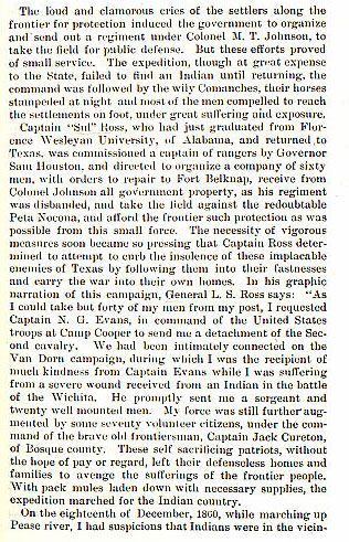 Battle of Pease River - Cynthia Ann Parker story from the book Indian Depredations in Texas by J. W. Wilbarger