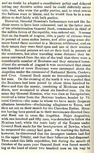 Cherokee War Story