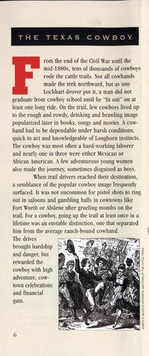 Chisholm Trail Brochure
