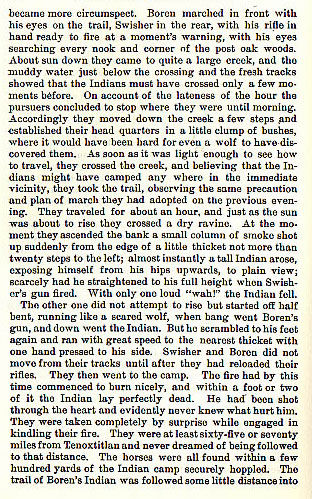 Captain James G. Swisher story from the book Indian Depredations in Texas by J. W. Wilbarger