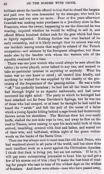 Tucson Story from the book On the Border with Crook
